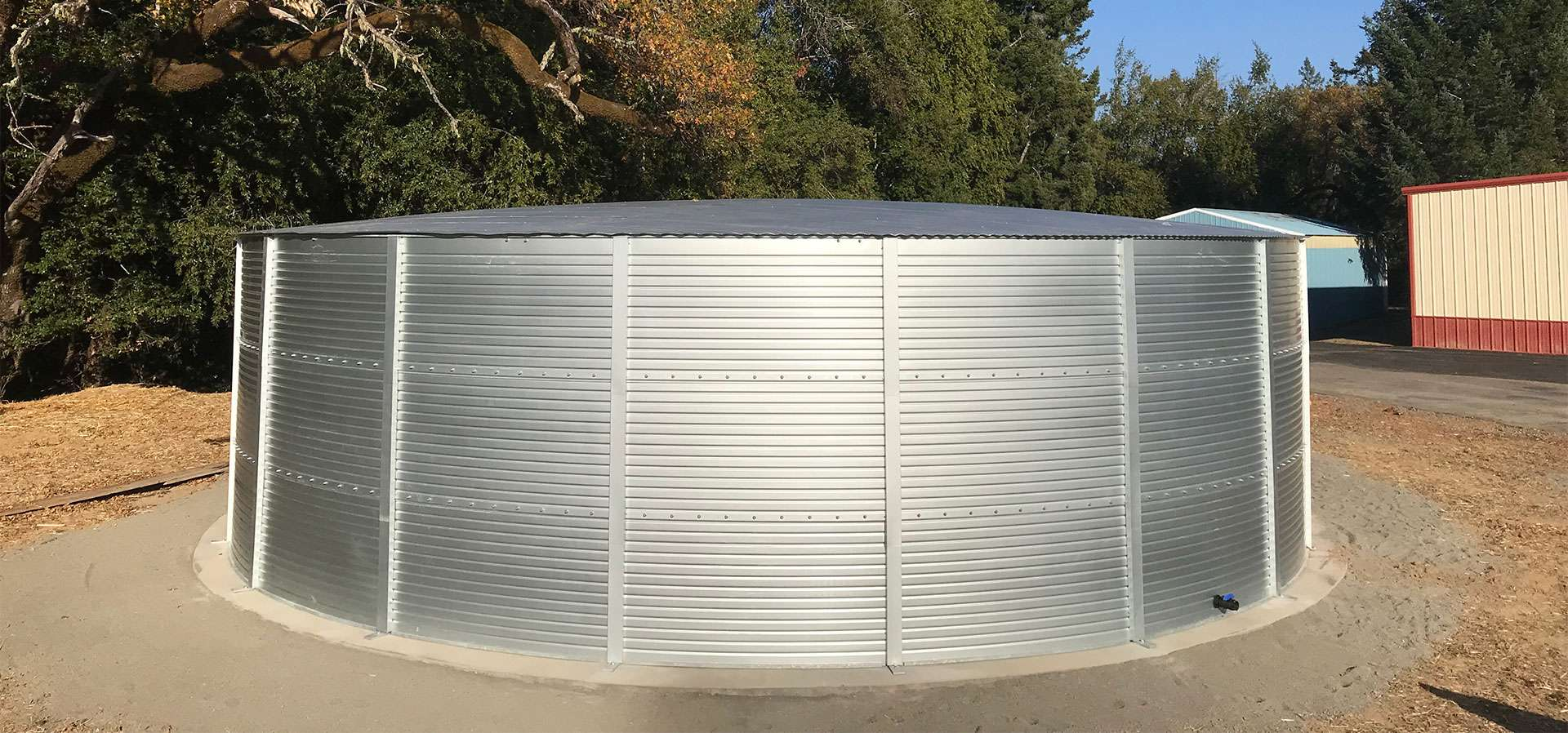 100000 water storage tank systems in Texas