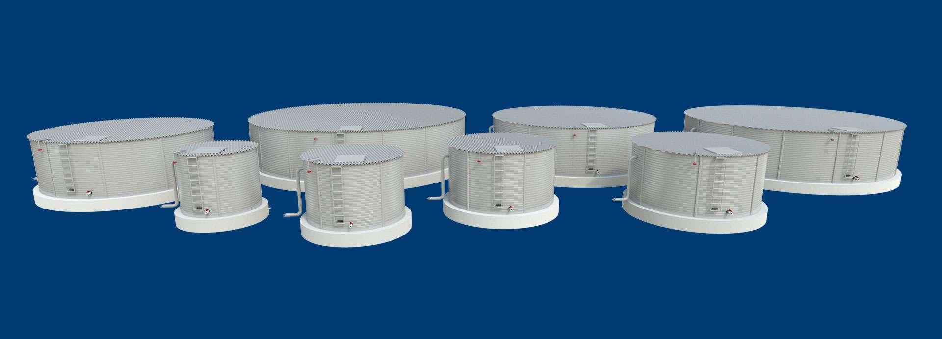 Water Tank Sizes