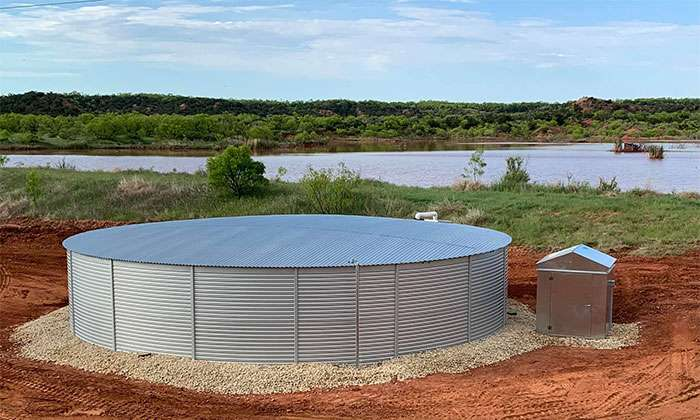 50000 gallon water tanks on sale now in Texas