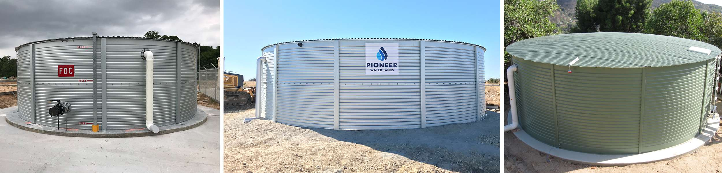 Water storage tank applications in Texas